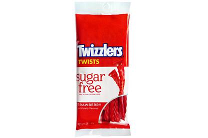 Twizzlers Twizzlers - Strawberry  Suikervrij 141 Gram