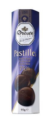 Droste Droste - Chocolade Pastilles Koker Extra Puur 75% 95 Gram