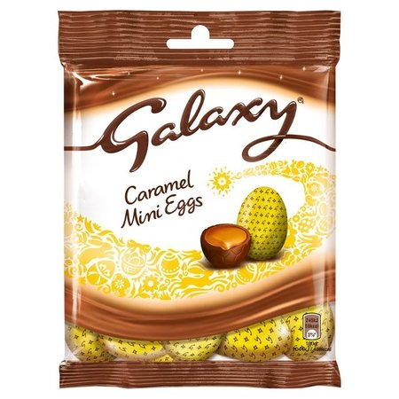 Galaxy Galaxy - Caramel Chocolate Easter Mini Eggs 80 Gram