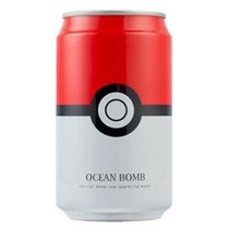 Ocean Bomb Pokemon Pokeball Original Sparkling Water 355ml