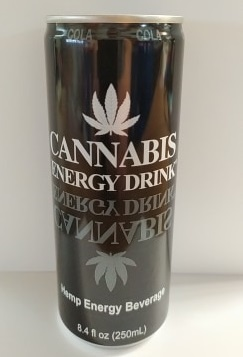 Cannabis Energy Cannabis Energy Drink - Cola 250ml