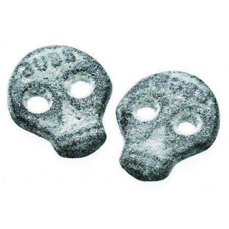 Bubs Bubs - Godis Zweedse Zoute Doodskoppen 3,2 Kilo