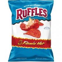Ruffles - Potato Chips Flamin Hot 184 Gram