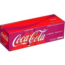 Coca Cola - Cherry Cola Vanilla 355ml 12 Blikjes