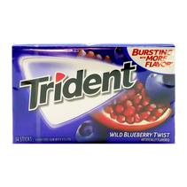Trident - Wild Blueberry Twist - 14 Sticks