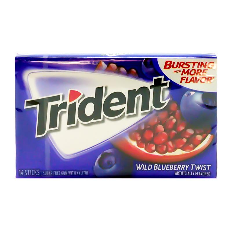 Trident Trident - Wild Blueberry Twist - 14 Sticks