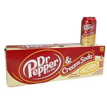 Dr Pepper - Cream Soda 355ml 12 Blikjes