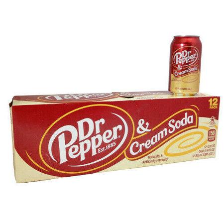 Dr Pepper Dr Pepper - Cream Soda 355ml 12 Blikjes