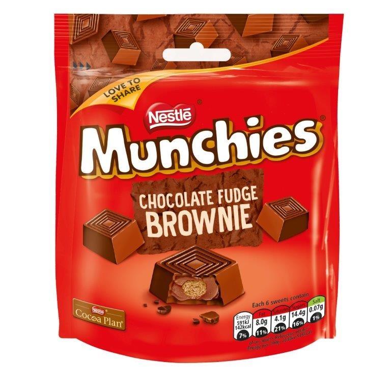 Nestle Nestle - Munchies Chocolate Fudge Brownie 101 Gram