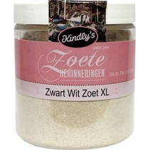 Kindly's - Zwart Wit Zoet XL 150 Gram