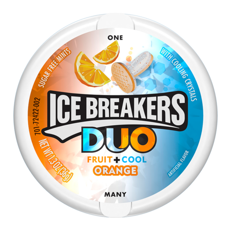Ice Breakers Ice Breakers - Duo Orange Mints 36 Gram