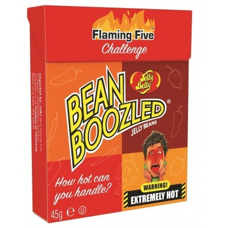 Jelly Belly Jelly Belly - Bean Boozled Flaming 5 - 45 Gram
