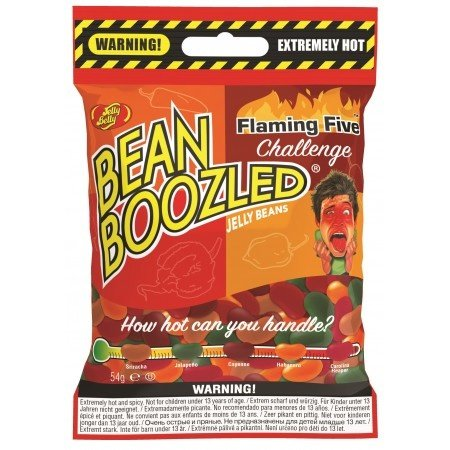 Jelly Belly Jelly Belly - Bean Boozled Flaming 5 - 54 Gram