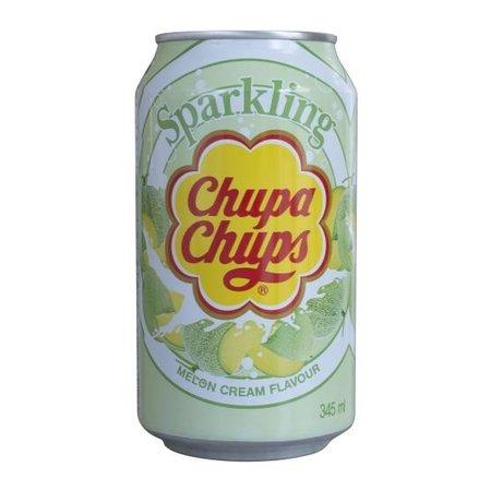 Chupa Chups Chupa Chups - Sparkling Melon Cream Drink 345ml (import uit Korea)