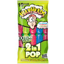 Warheads - 2 in 1 Freeze Pops 10-Pack