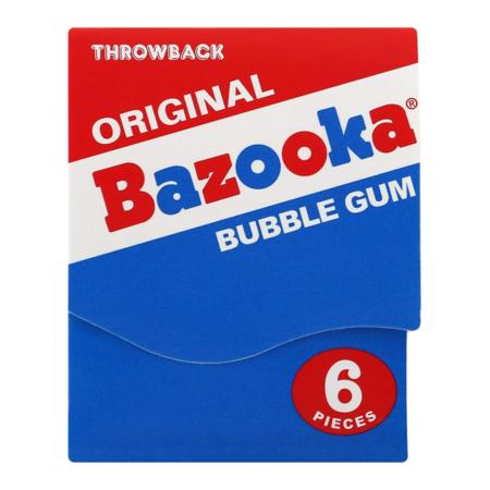 Bazooka Bazooka - Gum Throwback Mini Wallet 43 Gram