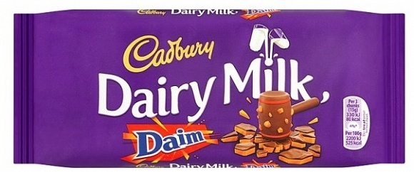 Cadbury Cadbury - Dairy Milk Daim 120 Gram