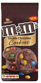 M&M's M&M - Double Chocolate Cookies180 Gram