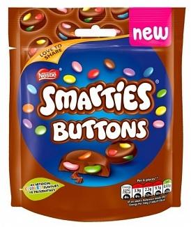 Smarties - Buttons Milk Bag 90 Gram
