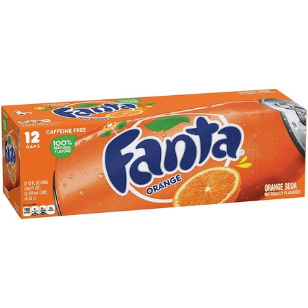 Fanta Fanta - Orange 355ml 12 Blikjes