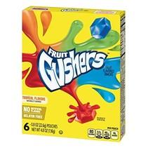 Betty Crocker - Fruit Gushers Tropical 136 Gram