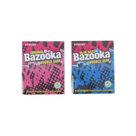 Bazooka Bazooka - Tutti Frutti Of Rapsberry 33 Gram