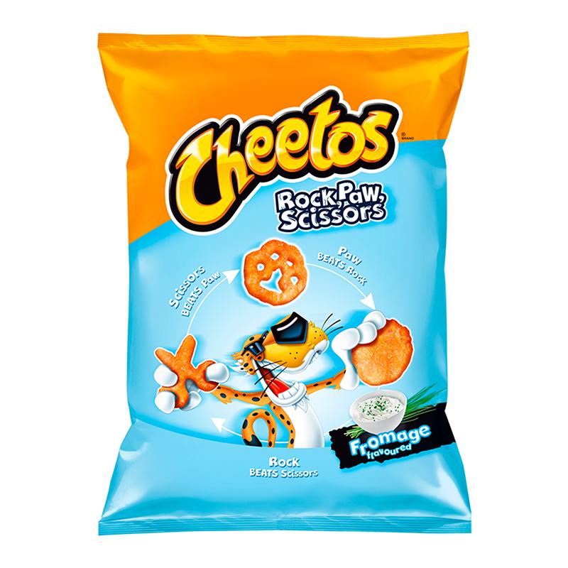 Cheetos Cheetos - Rock, Paw, Scissors Cheese 85 Gram (EU product)