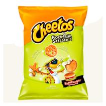 Cheetos - Rock, Paw, Scissors Hamburger 85 Gram (EU product)
