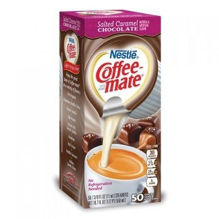 Coffee Mate Coffeemate - Salted Caramel Liquid Creamer Single Serve Tubs 50 Stuks