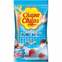 Chupa Chups - Milky 100 Stuks + 20 Stuks Extra