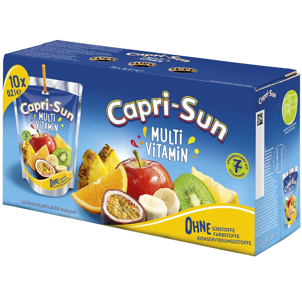 Capri-Son Capri-Sun - Multivitamin 200ml 10-Pack