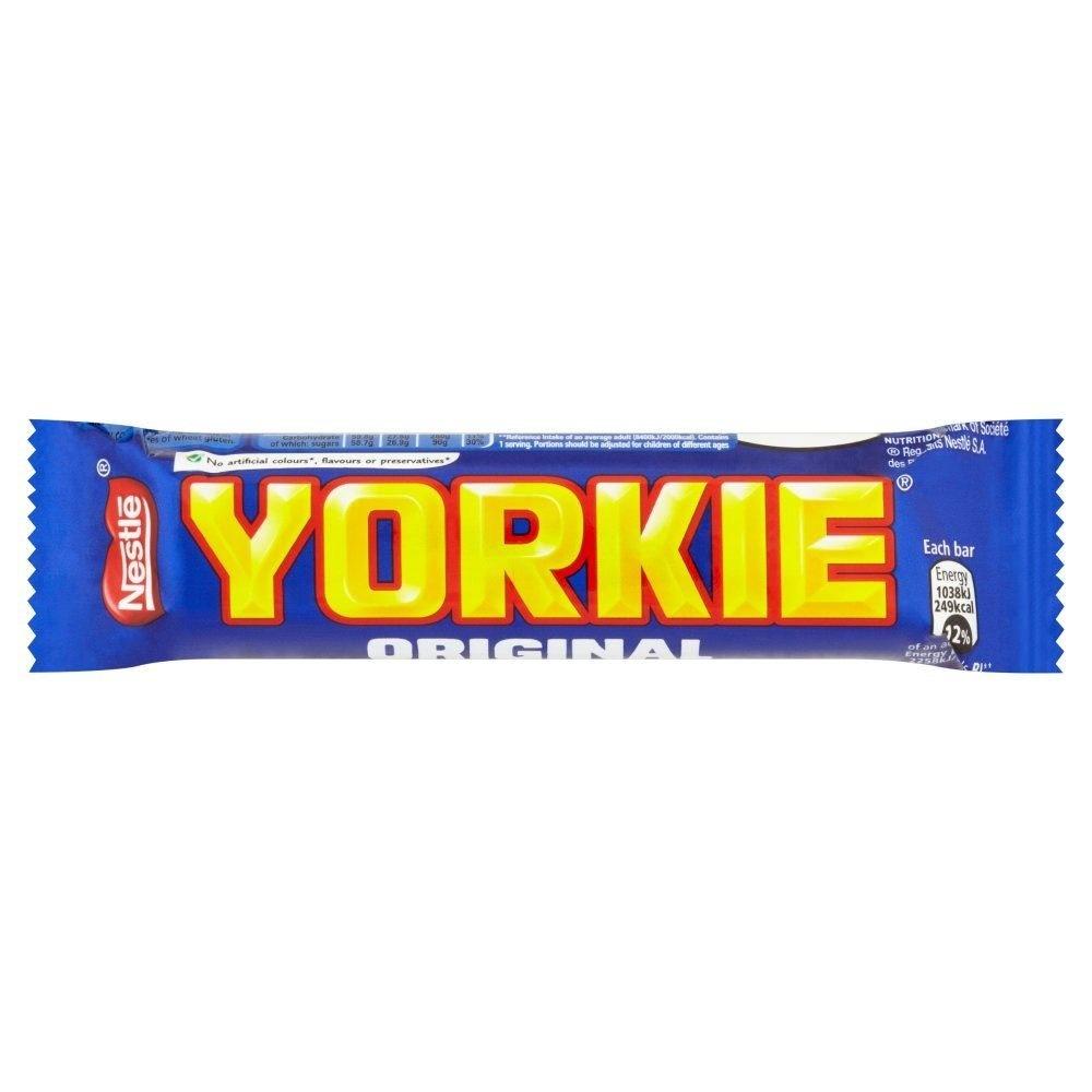 Nestle Nestle Yorkie Original Milk Chocolate 44 Gram