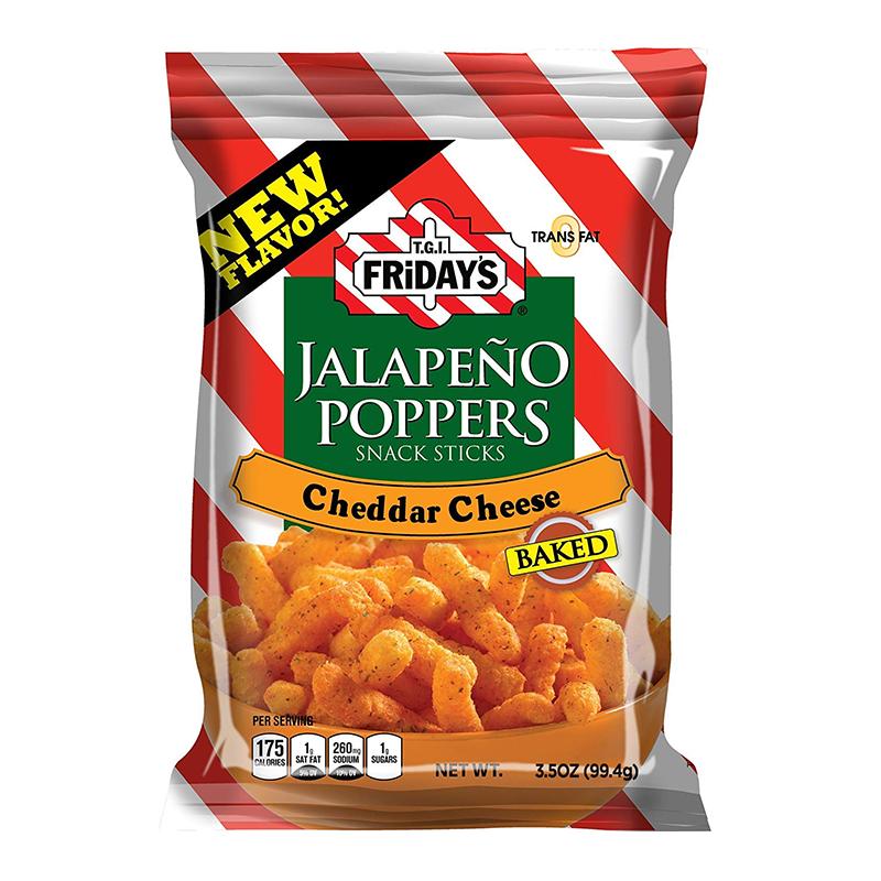TGI Fridays TGI Fridays - Jalapeño Poppers Snack Sticks 99 Gram