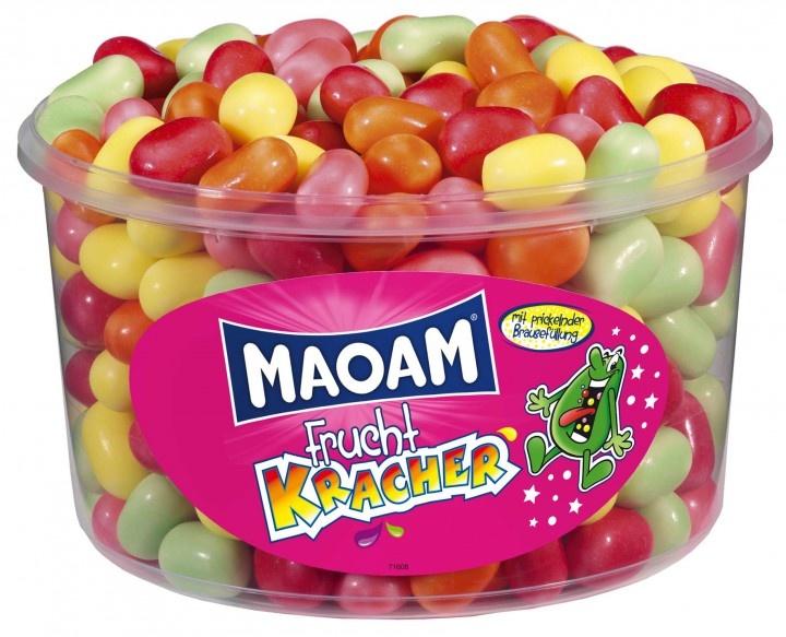 Hitschies Maoam - Kracher Frucht Silo 265 Stuks / 1200 Gram