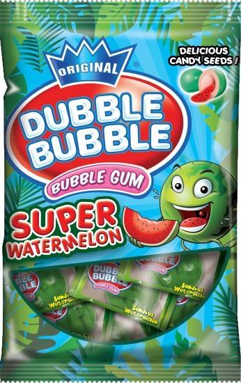 Dubble Bubble Dubble Bubble - Super Watermelon Bubble Gum 85 Gram