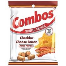 Combos - Cheddar Cheese Bacon Pretzel 179 Gram