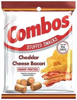 Combos Combos - Cheddar Cheese Bacon Pretzel 179 Gram