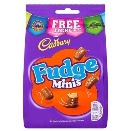 Cadbury Cadbury - Fudge Bites 120 Gram