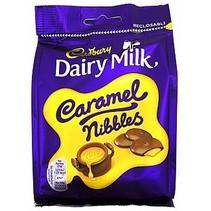 Cadbury - Dairy Milk Caramel Nibbles 120 Gram