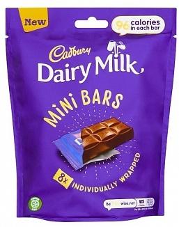 Cadbury Cadbury - Mini Bars Bag 144 Gram
