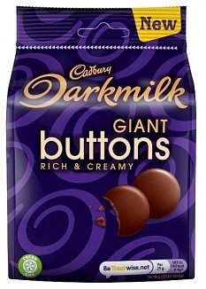 Cadbury Cadbury - Dark Milk Buttons 105 Gram