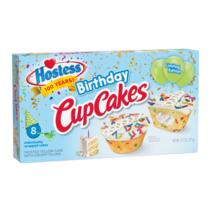 Hostess - Limited Edition Birthday Cupcakes 371 Gram