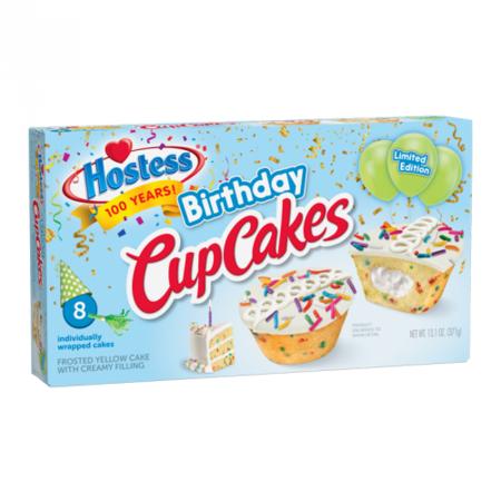 Hostess Hostess - Limited Edition Birthday Cupcakes 371 Gram