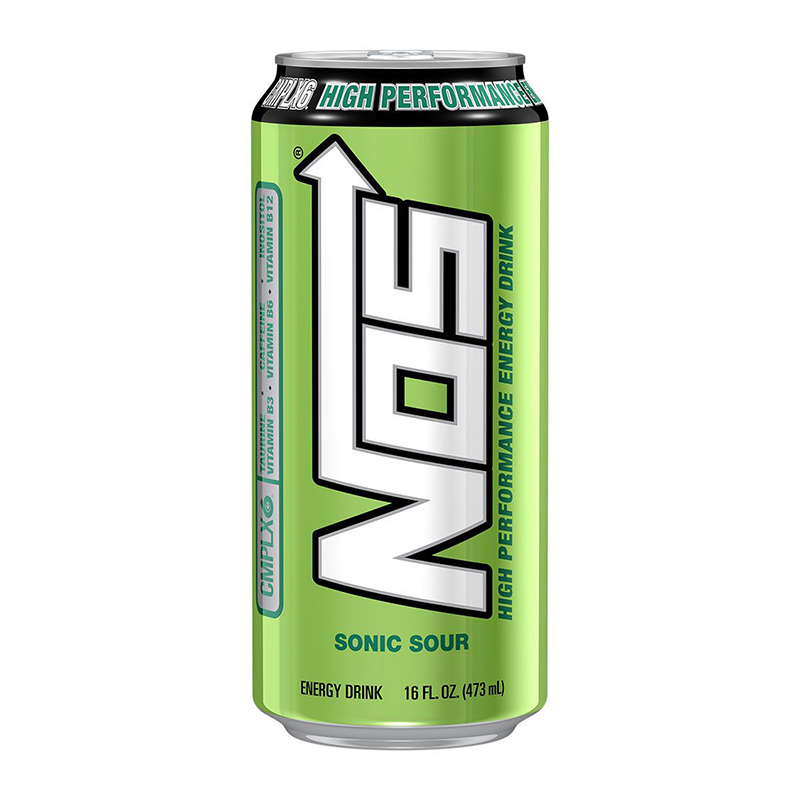 SweeTarts NOS - Sonic Sour High Performance Energy Drink 473ml