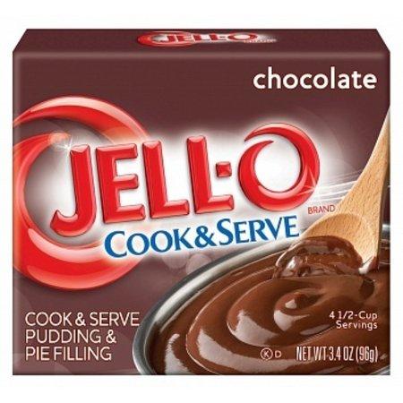 Jell-O Jell-O - Cook & Serve Dessert Mix Chocolate 96 Gram