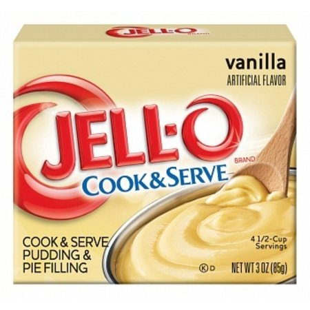 Jell-O Jell-O - Cook & Serve Dessert Mix Vanilla 85 Gram