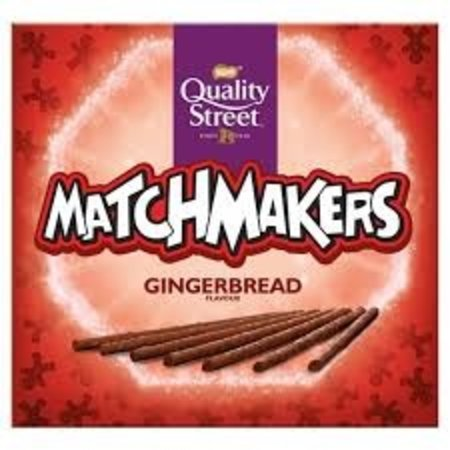 Quality Street Nestle - Quality Street - Matchmakers Gingerbread Flavour 120 Gram