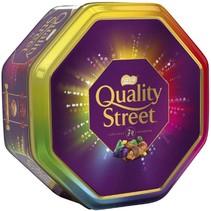 Quality Street - Christmas Chocolate Toffee And Cremes Tub 650 Gram