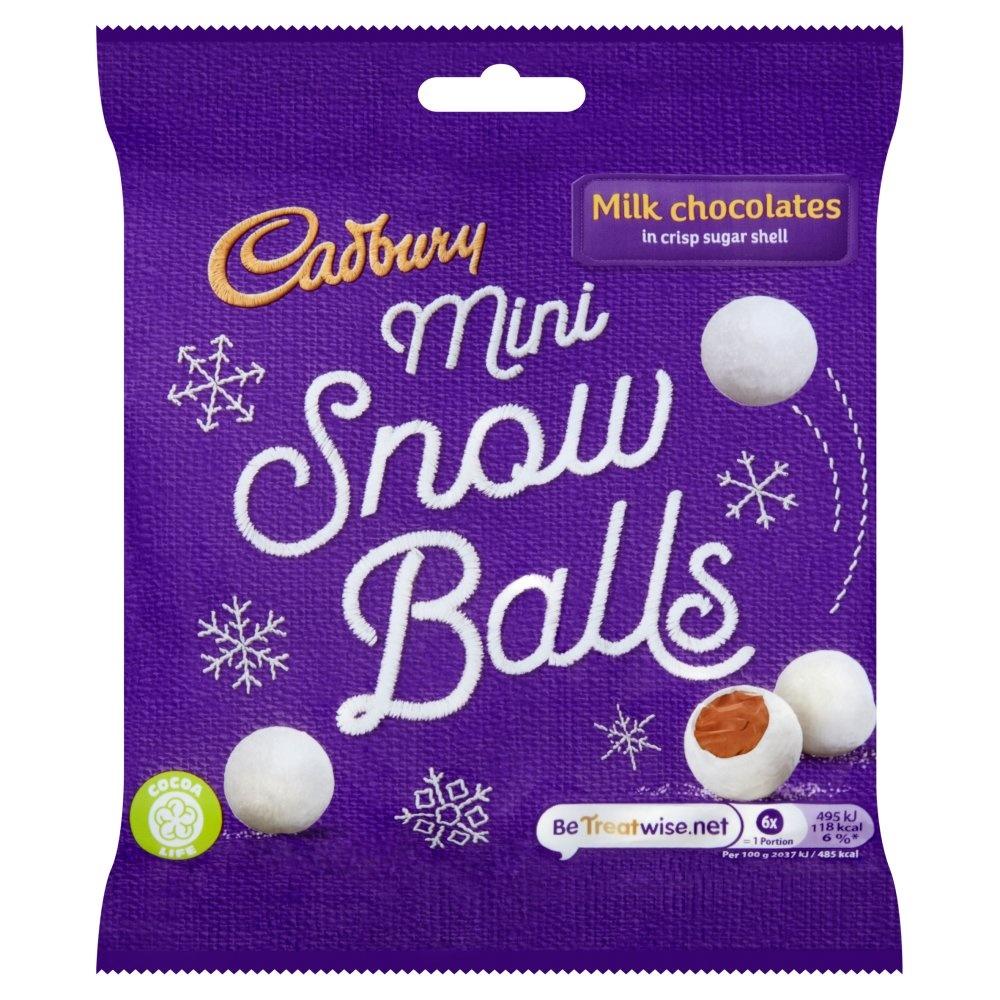 Cadbury Cadbury - Mini Snow Balls 80 Gram
