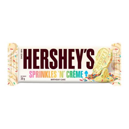 Hersheys Hershey's -Sprinkles 'n Creme Bar 39 Gram